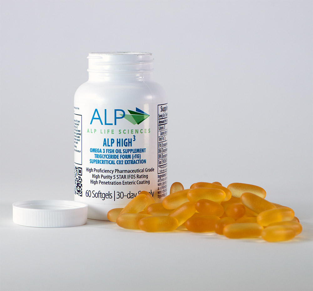 Alp high 3 single bottle alp life sciences for Fish oil for depression and anxiety